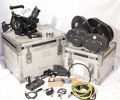 ARRI 35 III PL Mount Cinematography Electronics AKS Panavision Mount and extras