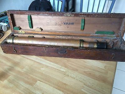 Vintage Gunsight Vp 5-15  WW1, Military, Day And Night  Sight. Cased