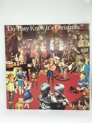 Band Aid - Do They Know It's Christmas 12 vinyl 1984