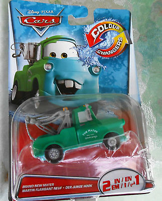 disney cars color changers 2in1 HOOK - MATER - McQUEEN farbwechsel