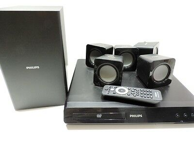 Reproductor Dvd Home Cinema 5. 1 Philips