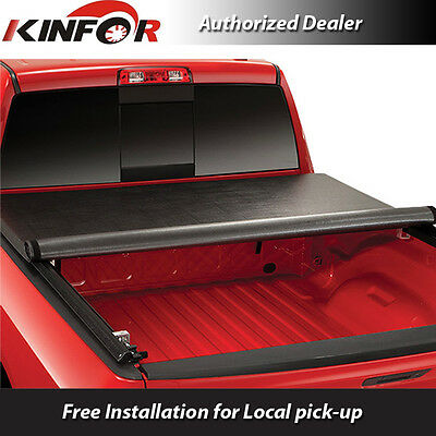 Premium Vinyl Rolling Up Tonneau Cover for 2016-2017 Toyota Tacoma 5' Bed RT083