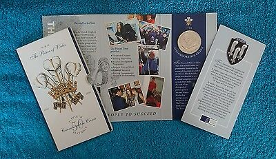 Royal Mint 1998 Prince of Wales 50th Birthday £5 Commemorative Crown