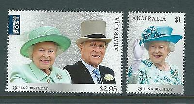 Australia 2017 Queen's Birthday Set Of 2  Unmounted Mint, Mnh