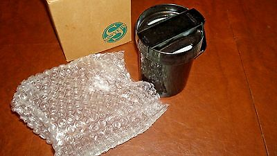 VINTAGE AVON SAWYER *No Spill Mug* **IN Black**NEW IN BOX**1994**OLD STOCK