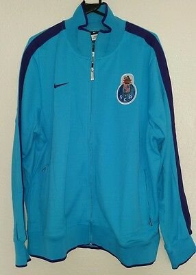 FC PORTO player issue Tracksuit TOP NIKE Original blue sky PORTUGAL XXL Football