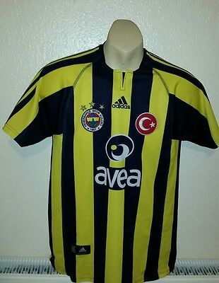 Fenerbahce football shirt trikot jersey Home ADIDAS Istanbul 2004-2005