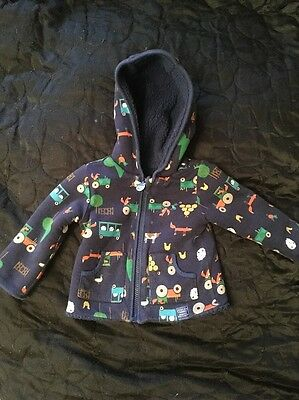 Baby Boy Joules Hoodie 6-9 Months