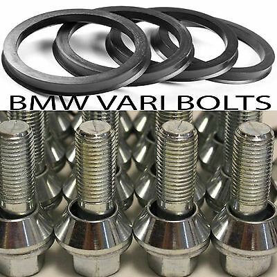 BMW X5 to RENAULT TRAFIC PANEL VAN ALLOY WHEEL BOLTS LOCKS RINGS WOBBLE BOLT KIT