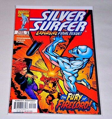 Silver Surfer 146 Final Issue HIGH GRADE VF/NM