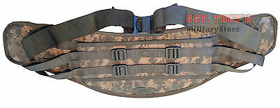 US Military Molle ACU MOLDED WAIST BELT Kidney Pad for Large RUCKSACK Frame VGC