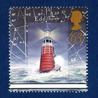 Original Eddystone Lighthouse, Plymouth illustrated on 1998 Stamp - U/M