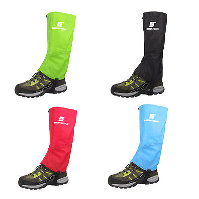 Waterproof Climbing Hiking Snow Ski Shoe Leg Cover Boot Legging Gaiter LUCKSTONE