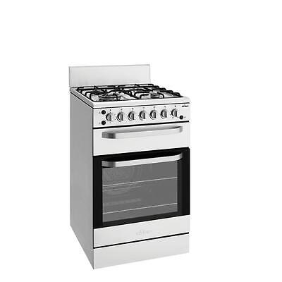 Chef CFG517SANG 54cm S/Steel Freestanding Gas Cooker with Separate Grill