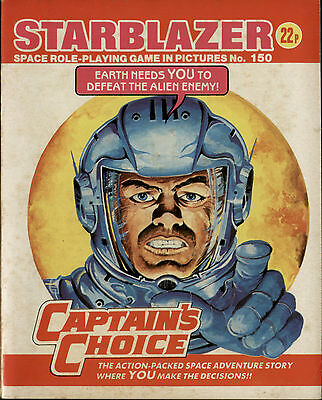 Captain's Choice,starblazer Space Role-Playing Game In Pictures,no.150,comic