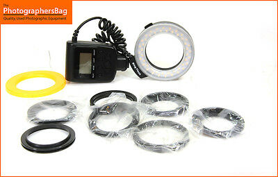 LED RING FLASH Ringflash  Universal Mount Free UK PP