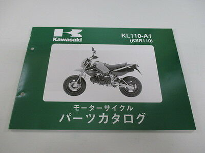 KAWASAKI Genuine Used Motorcycle Parts List ZX-10R KL110-A1