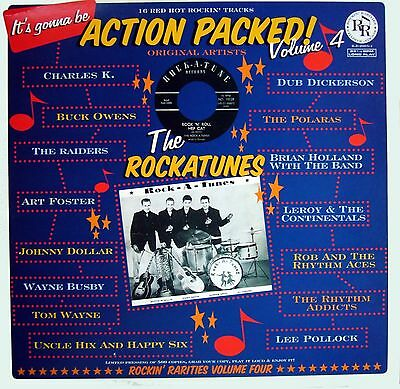 VA.ACTION PACKED VOL 4 - FANTASTIC RARE ROCKIN' 50/60s  LP