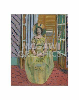 """MATISSE HENRI-YOUNG WOMAN W//FACE BURIED ARMS1929-ART PRINT POSTER 11/"""" X14/"""" 3080"""