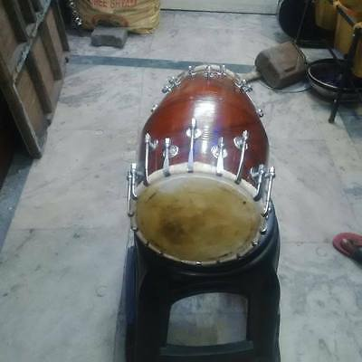 "best new sheesham dholak _wood""bolt fitting""dhollki nice sound best offer dhol"