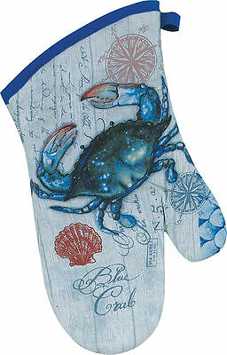 Kay Dee Designs Blue Crab Oven Mitt One Size
