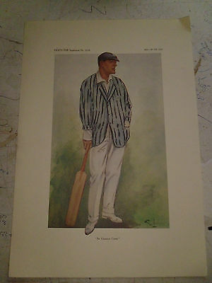 Vanity Fair Print Cricket The Champion County