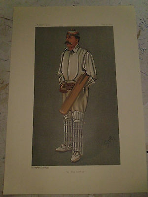 Vanity Fair Print Cricket A Big Hitter