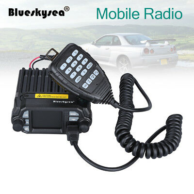 Well QYT KT-8900D Dual Band Quad Standby 200ch VHF UHF Trunk Ham Mobile Radio