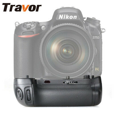 Travor Battery Grip Pack Hand Holder Fr Nikon D750 DSLR Camera EN-EL15 As MB-D16