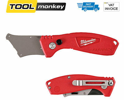 Milwaukee FASTBACK Compact Flip Folding Utility Knife Handle 48221906 No Blades