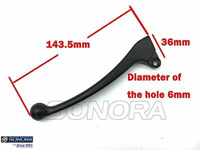 Item: GY6 Chinese scooter Left Brake Lever PEACE TAOTAO SUNL ROKETA JCL JONWAY