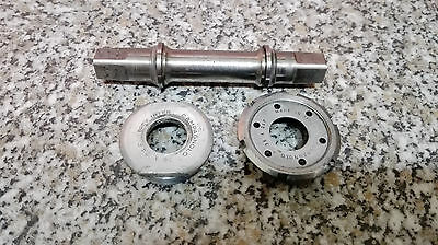 Campagnolo super record Titanium bottom bracket 70-SS-120 88gr Vintage 36x24f