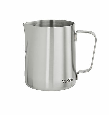Stainless Steel Milk Frothing Jug 945ml (32oz) Coffee Latte Cafe Cappuccino