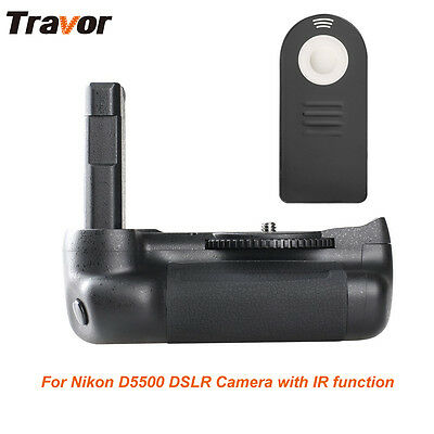 Travor Vertical Battery Grip Holder fr Nikon D5500 D5600 DSLR camera IR function