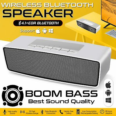 Latest Wireless Rechargeable Portable Bluetooth Speaker For iPhone iPod Samsung