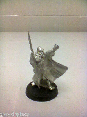 games workshop Lord of the rings metal rohan command with horn