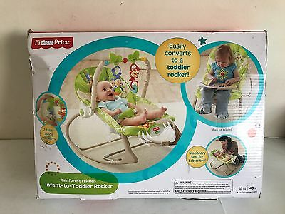 Fisher Price Rainforest Infant to Toddler Rocker USED GOOD CONDITION
