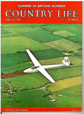 Country Life Magazine Summer In Britian Hampshire April 10 1975 Birthday Gift