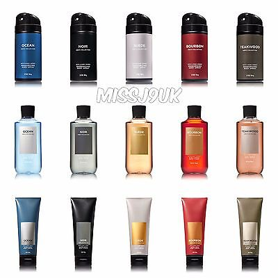 Bath and Body Works Mens collection 2017 SCENTS