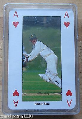 ICC Cricket WORLD CUP England '99 Pakistan Team Playing Cards in Plastic box