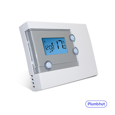 Salus RT500 Digital Central Heating LCD Electronic Room Thermostat (5/2 or 7day)