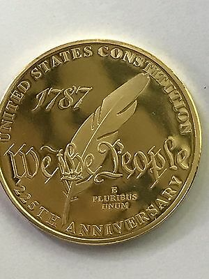 United States Constitution We The People 225th Anniversary Commemorative Coin