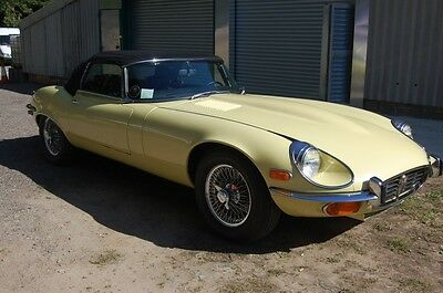 1972 Jaguar V12 E Type Roadster Left Hand Drive low mileage example