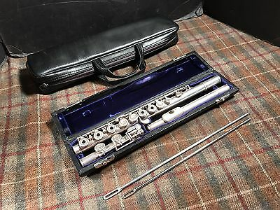 Artley The Wilkins Model Silver Open Hole Flute Professional Used Issue Free