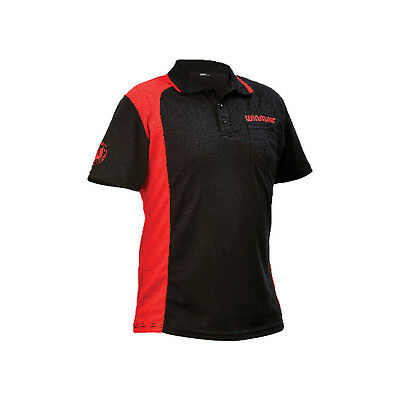 WINMAU WINCOOL 2 DARTS SHIRT - Black & Red - Many Sizes