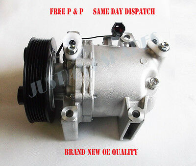 Brand New AC Air Compressor For Nissan Pathfinder R51 - 2.5DCi (05/2005-2016)