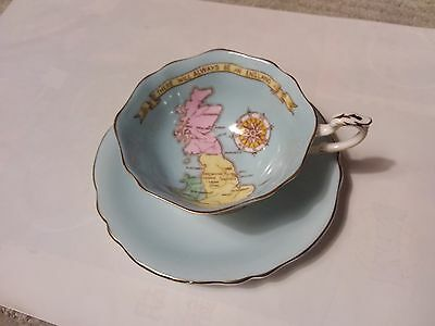 Paragon  Teacup & Saucer - Patriotic Series - There Will Always Be An England
