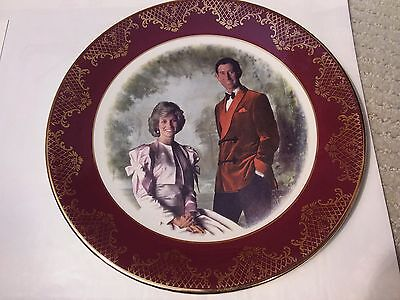 Their Royal Highnesses The Prince & Princess Of Wales Plate - Diana & Charles