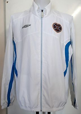 Hearts White Track Jacket By Umbro Size Adults Xxl Brand New With Tags