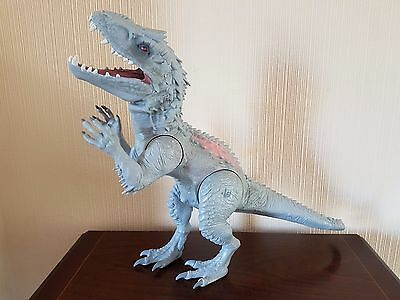 Jurassic World Chomping Indominus Rex Electronic Toy - Good Condition